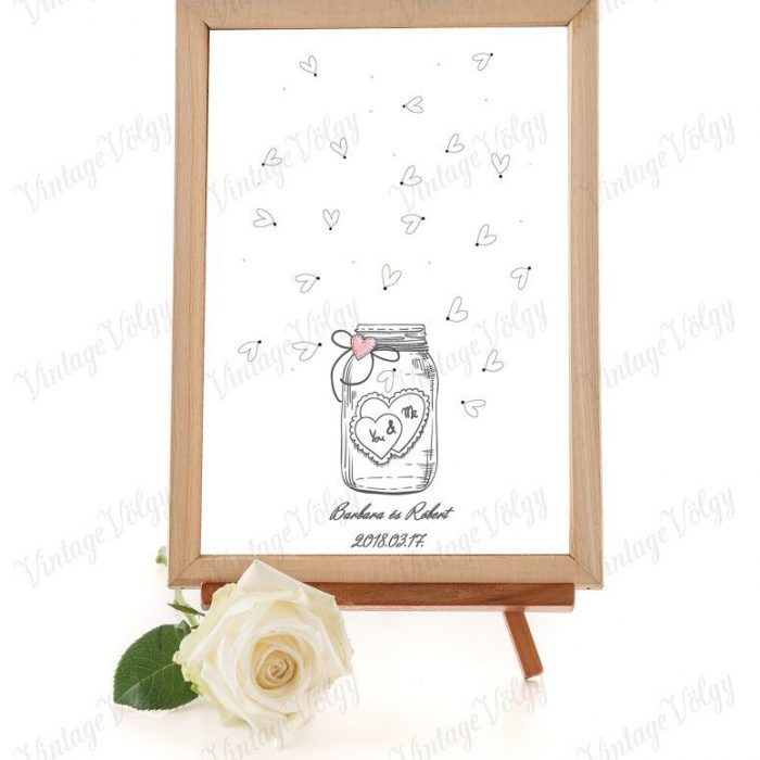 blank art board with white rose